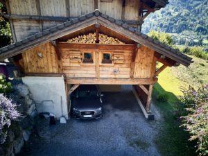 Chalet-Epicure-location-vacances-Famille-aiguille-midi-Juin-snow-park-VTT-Crozet